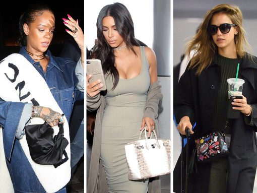 Viva Bag Diversity! Celebs Step Out with New Bags from Moschino, Anya Hindmarch and The Row