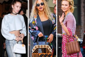 Celebs Shook It Up Last Week with New Bags from Céline, Burberry, Gucci and More