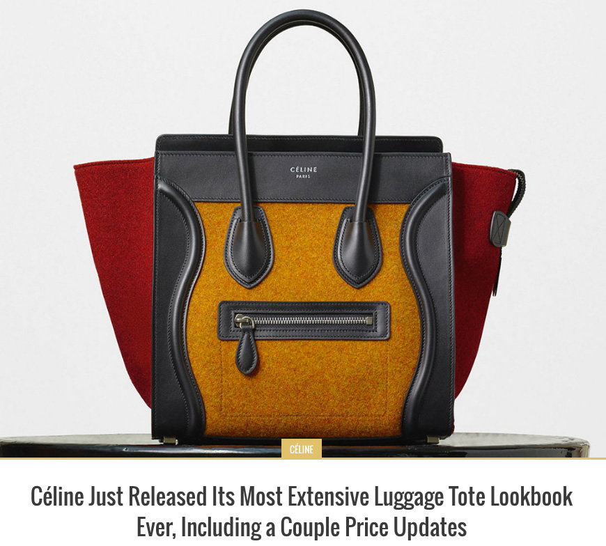 Celine-Luggage-Tote-Lookbook