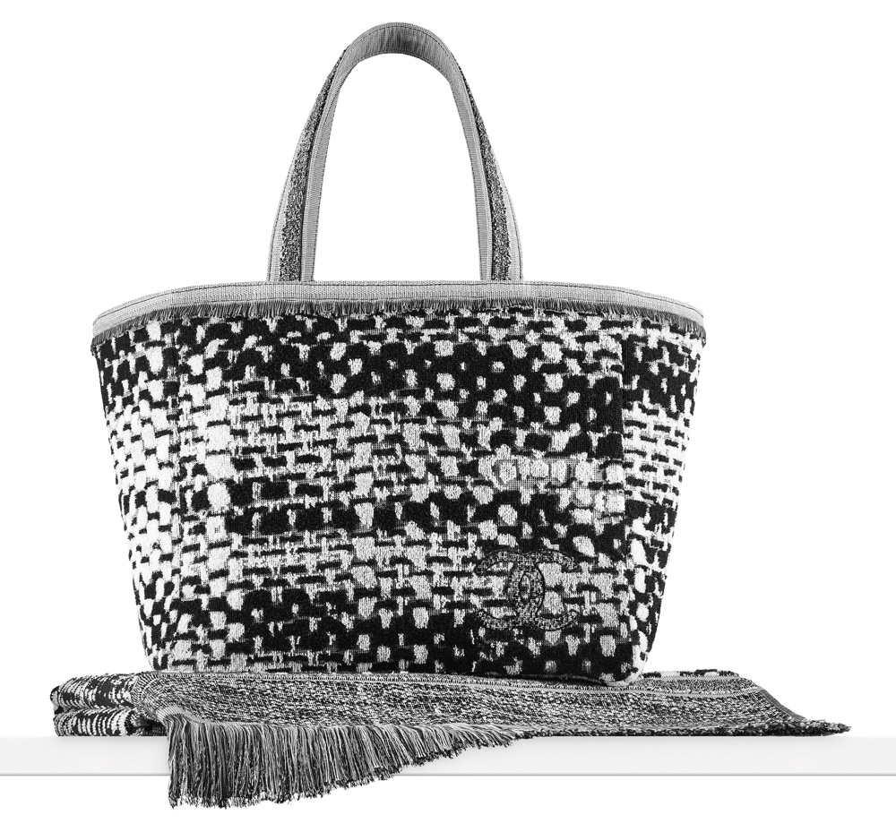 Chanel Towel: Chanel Makes The Most Luxurious Beach Bag And Towel Set