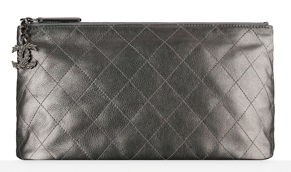 Chanel-Metallic-Calfskin-Pouch-825