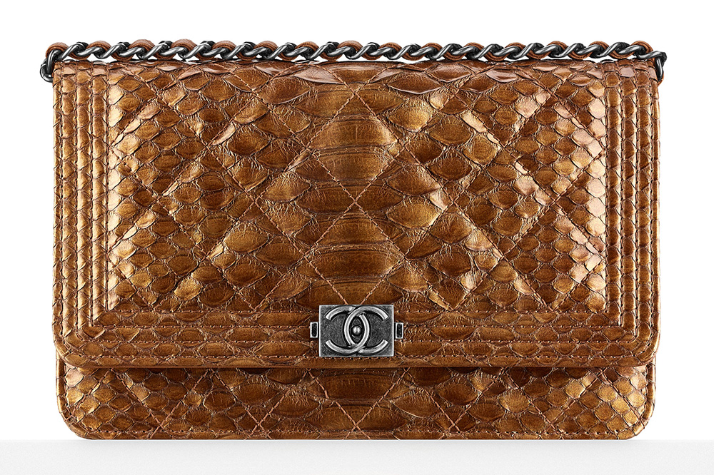 Chanel-Metallic-Python-Boy-Wallet-on-Chain-4100