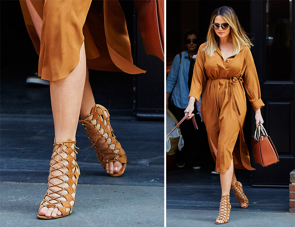 Chrissy-Teigen-Gianvito-Rossi-Lace-Up-Sandals