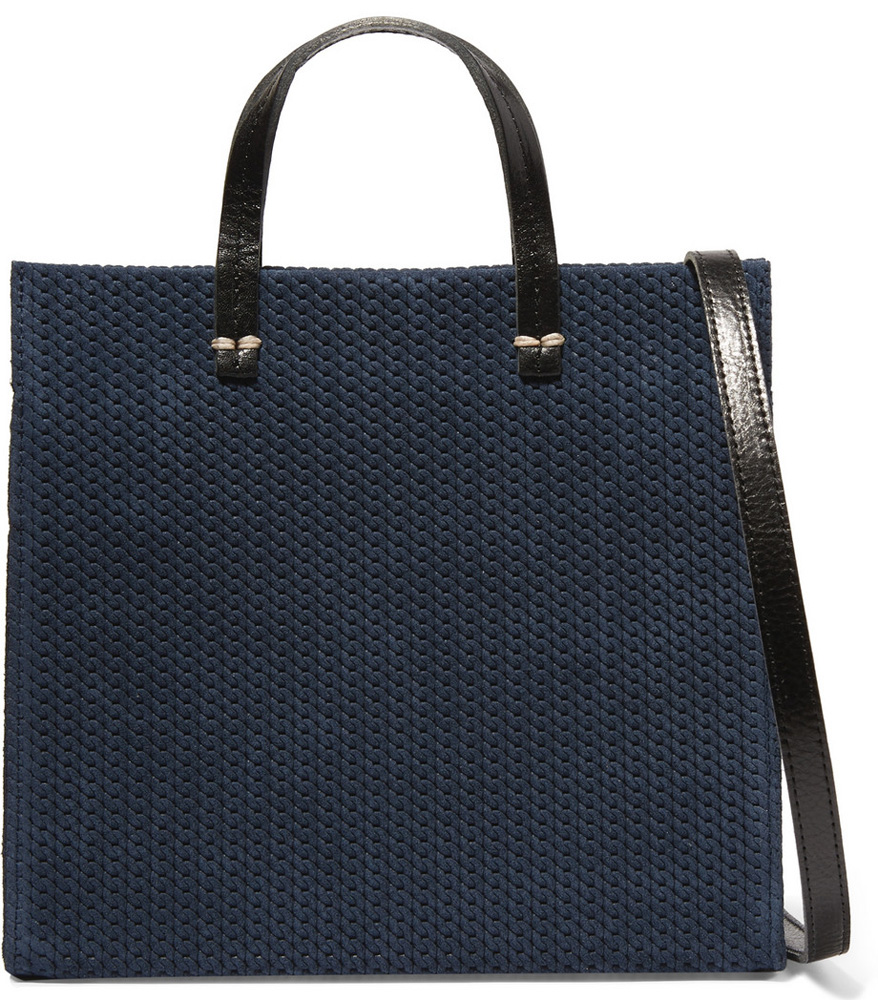 Clare-V-Simple-Woven-Suede-Tote