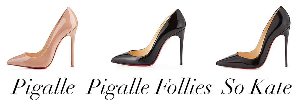 official photos 05322 e98a8 What's the Difference: Christian Louboutin's Pigalle ...