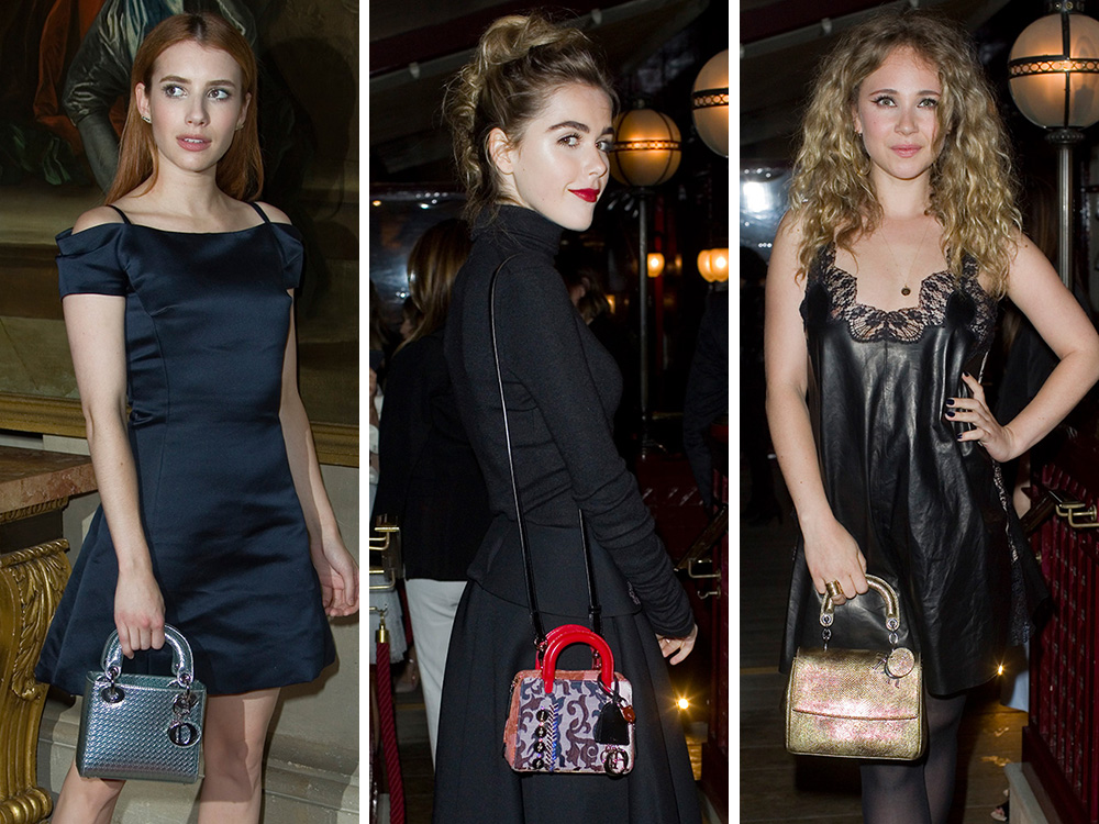 cc89c39b69a Dior's Cruise 2017 Show Drew Dozens of Celebs, All of Whom Carried  Beautiful Dior Bags