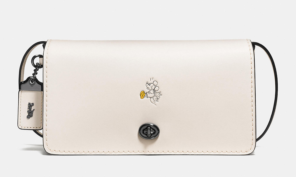 Disney X Coach Mickey Y Crossbody Bag