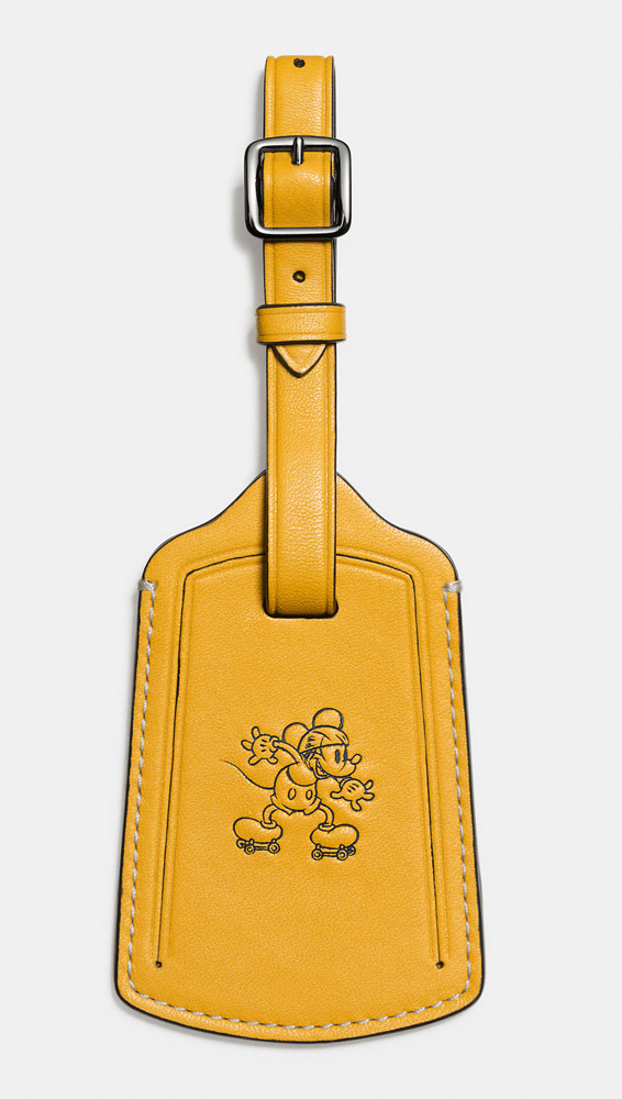 Disney-x-Coach-Mickey-Luggage-Tag