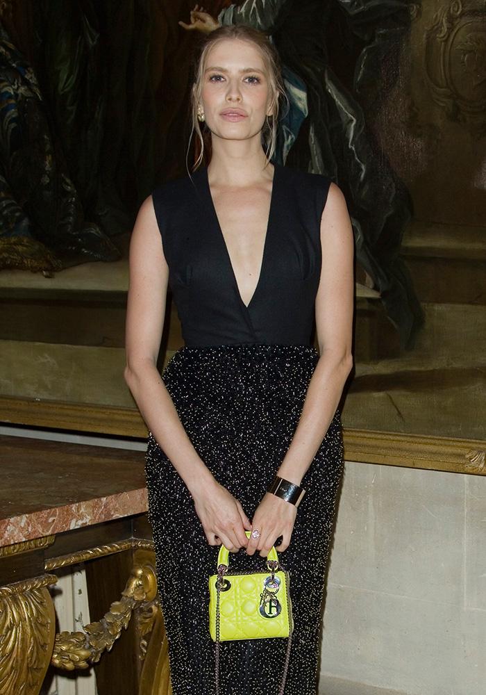 Elena-Perminova-Dior-Lady-Dior-Bag