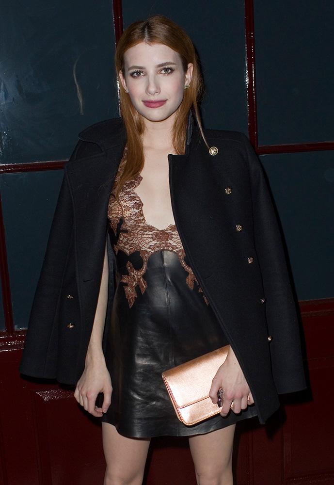 Emma-Roberts-Dior-Miss-Dior-Promenade-Pouch