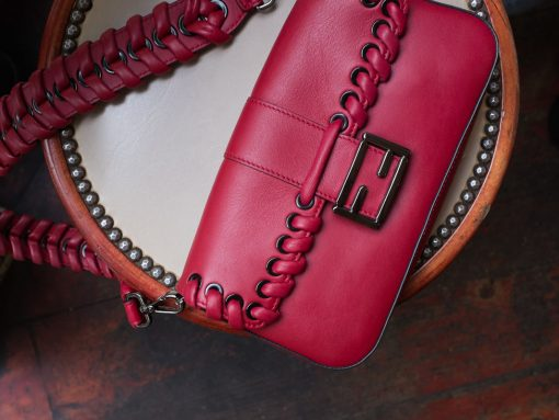 Fendi Baguette Whipstitch Detail