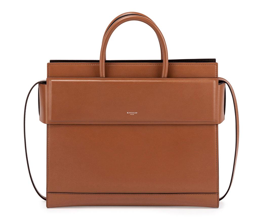 Givenchy-Small-Horizon-Bag-Tan