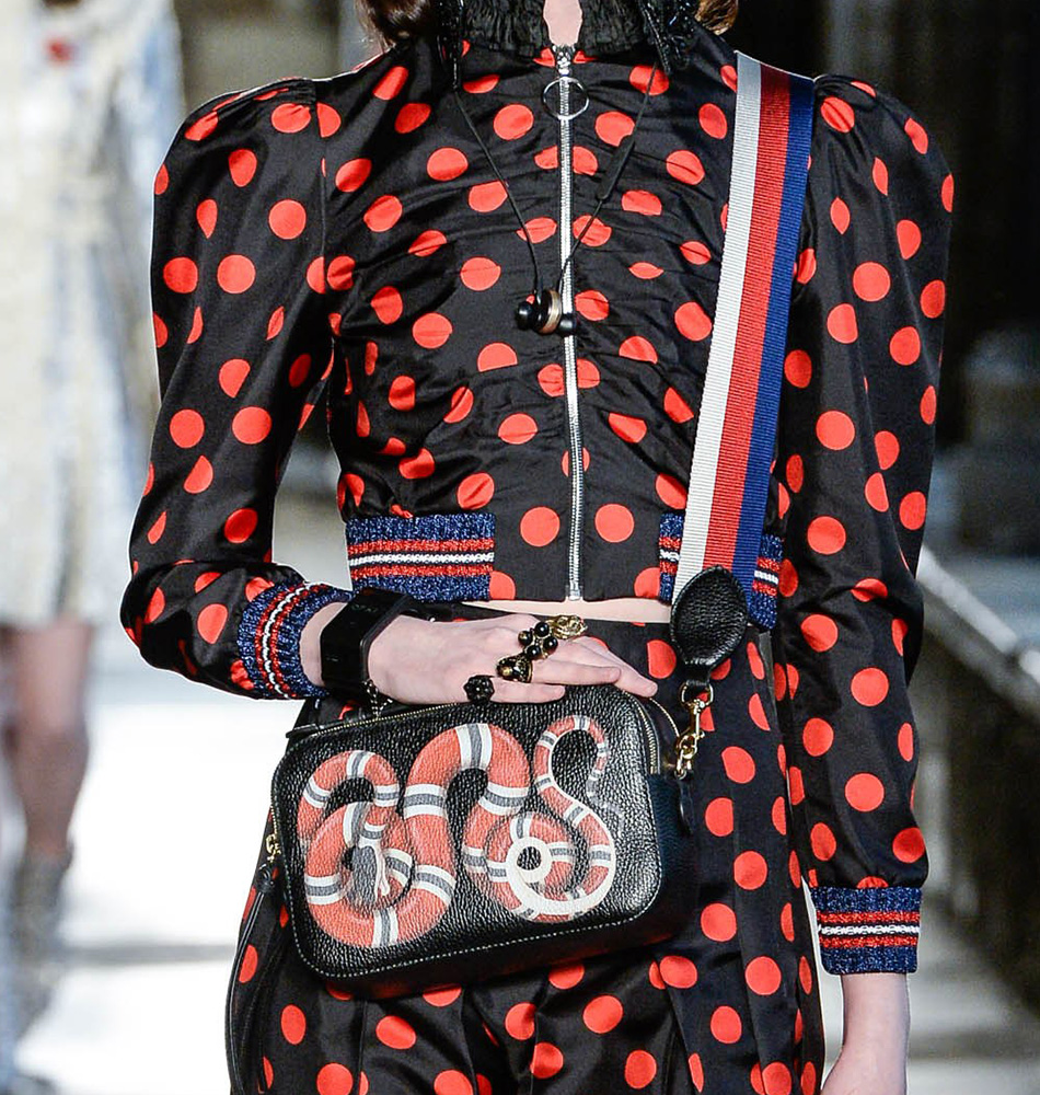 get your first look at guccis beautiful cruise 2017 bags
