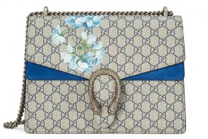 This Blue Gucci Dionysus GG Blooms Bag is Making Me Feel the Opposite of Blue