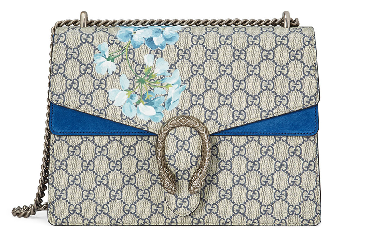 accd82429247 This Blue Gucci Dionysus GG Blooms Bag is Making Me Feel the ...