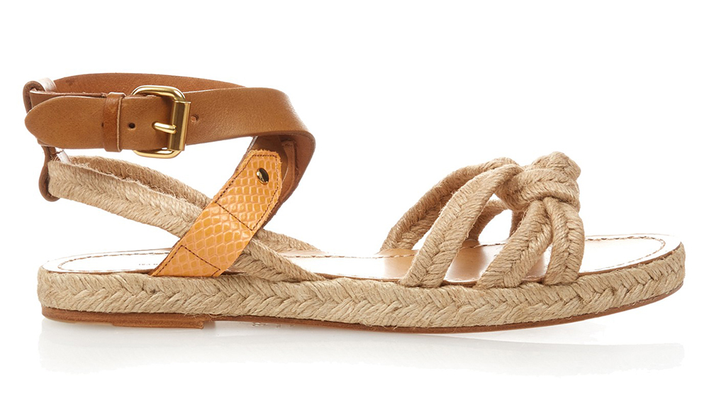 Isabel Marant Etoile Camila Rope and Leather Sandals
