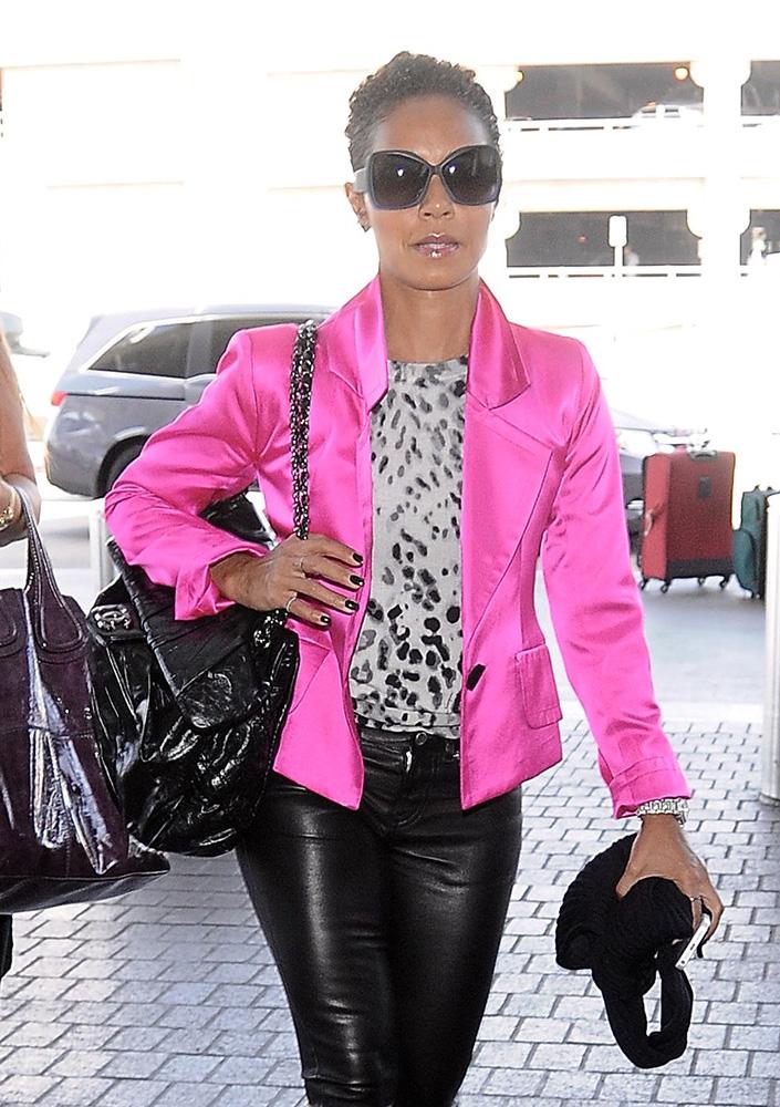 Jada-Pinkett-Smith-Chanel-Patent-Flap-Bag