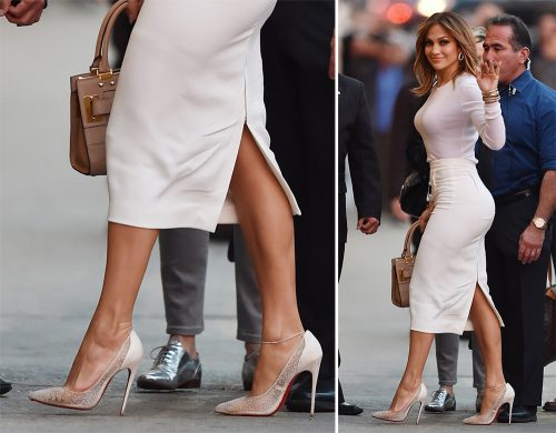 Jennifer Lopez Christian Louboutin Body Strass Pumps