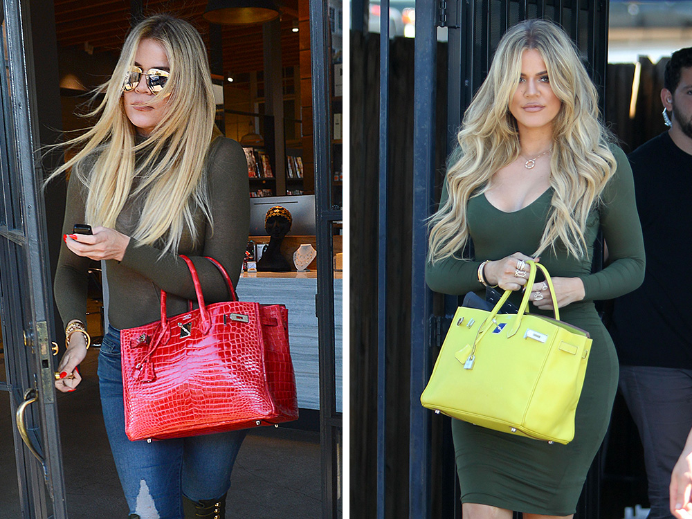 3e374be5960f Just Can t Get Enough  Khloé Kardashian s Hermès Birkin Collection is  Nearly as Impressive as Her Mom s