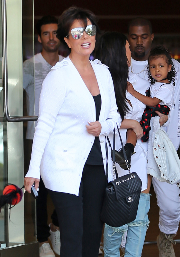 Kris-Jenner-Chanel-Chevron-Backpack