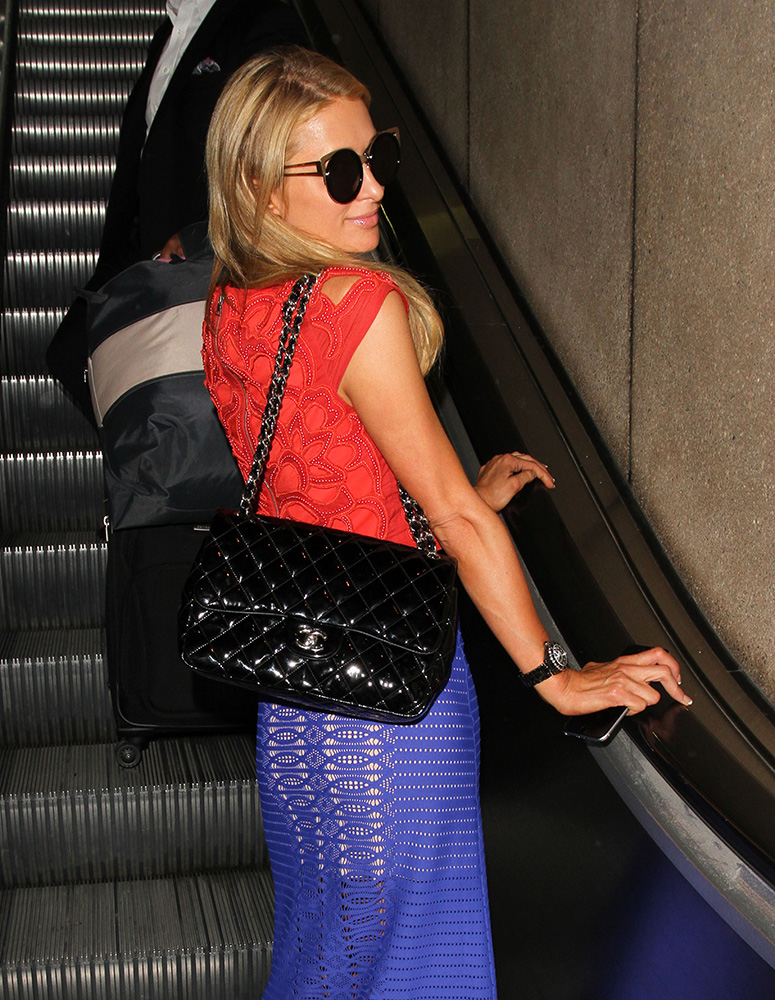 Paris-Hilton-Chanel-Classic-Flap-Bag
