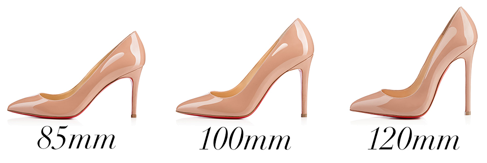 christian louboutin 100mm vs 120
