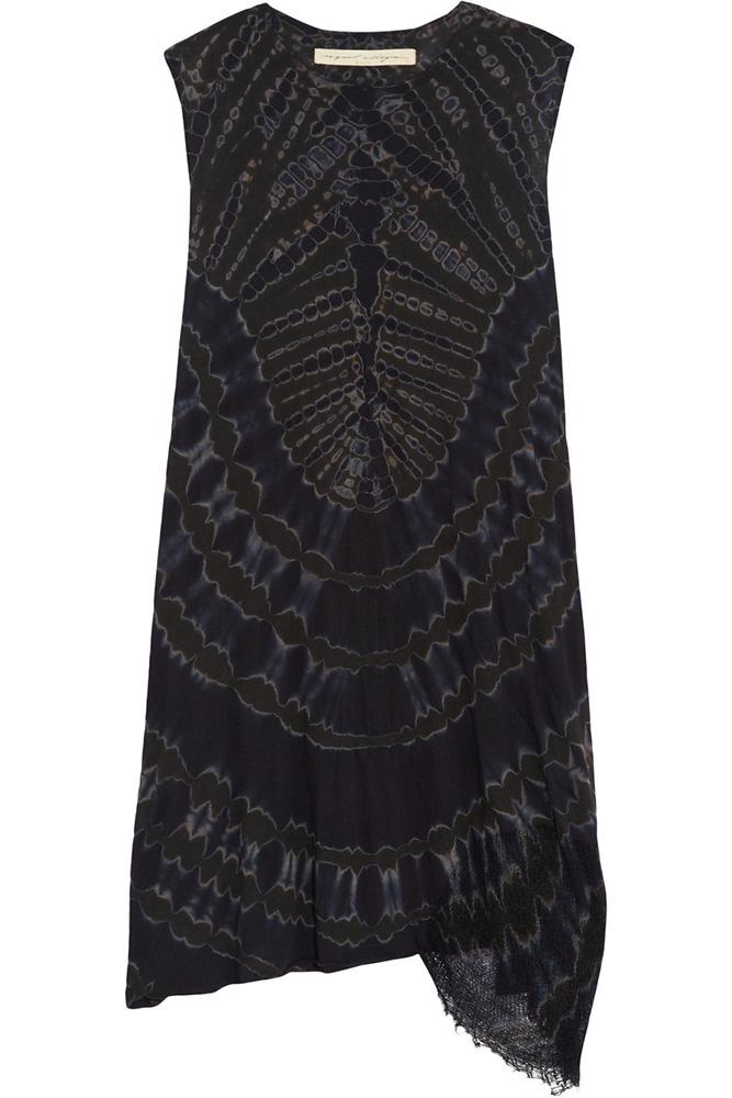 Raquel-Allegra-Tie-Dyed-Mini-Dress