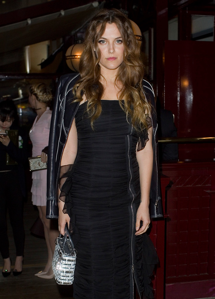 Riley-Keough-Dior-Lady-Dior-Bag