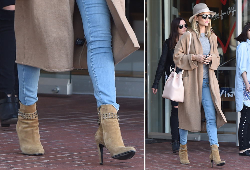Rosie-Huntington-Whiteley-Saint-Laurent-Studded-Suede-Booties