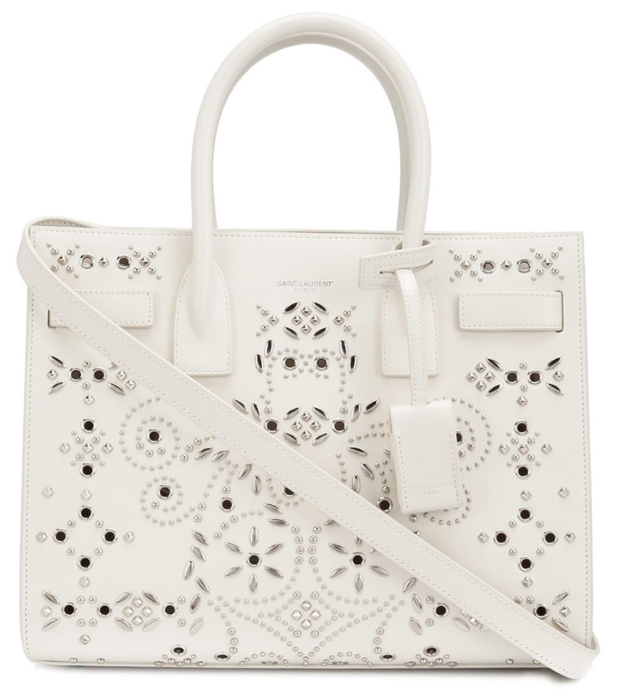 Saint-Laurent-Studded-Baby-Sac-de-Jour-Bag