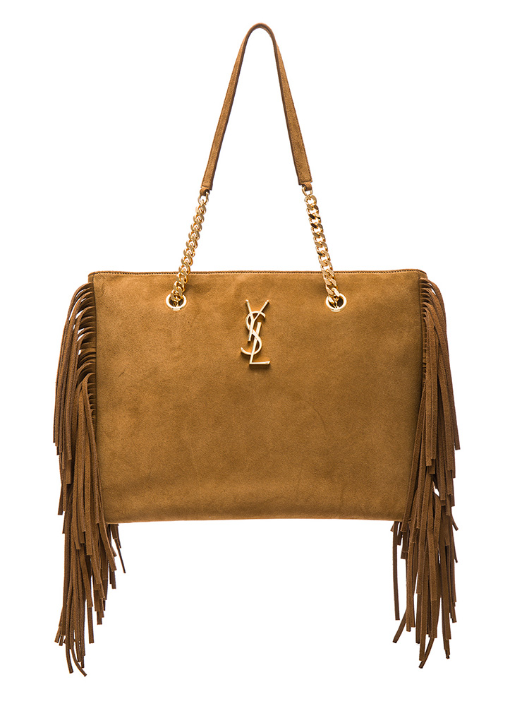 Saint-Laurent-Suede-Fringe-Monogramme-Shopping-Tote