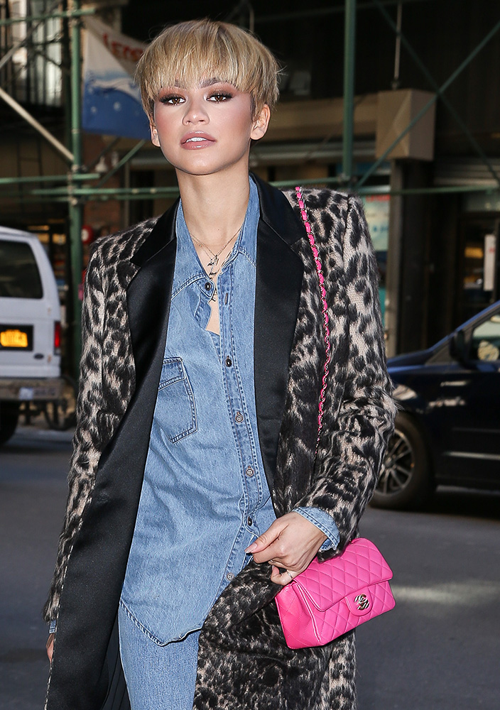 Zendaya-Chanel-Mini-Classic-Flap-Bag