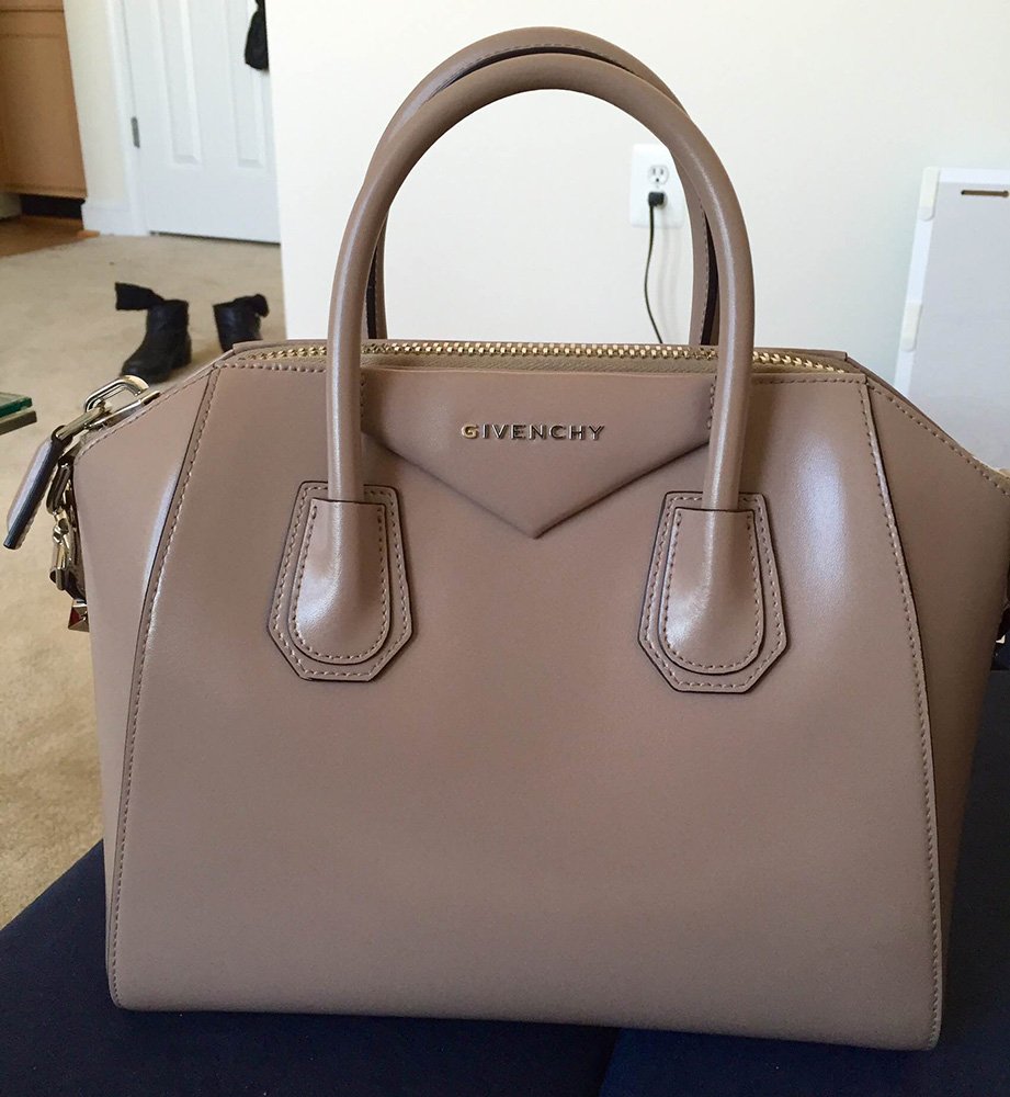 tPF Member: bagloverny Bag: Givenchy Antigona Small Leather Satchel Shop: $2,280 via Saks
