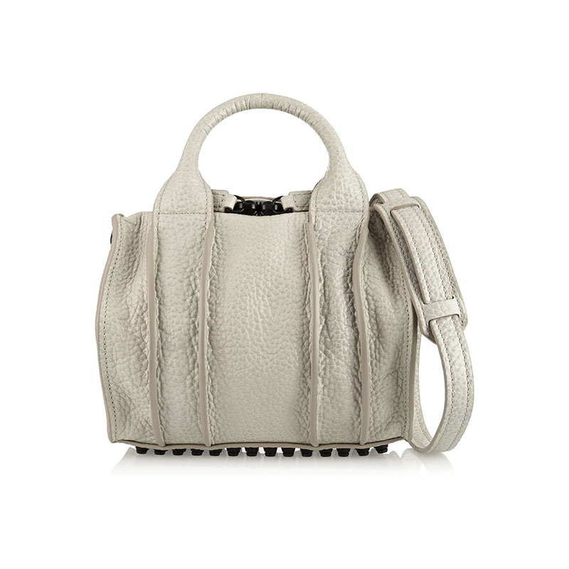 Alexander Wang_Inside-Out Rockie textured-leather tote_THE OUTNET.COM