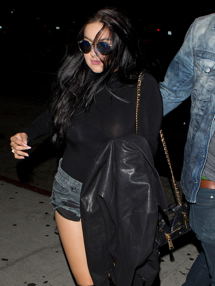 Ariel-Winter-Moschino-Moto-Jacket-Mini-Bag