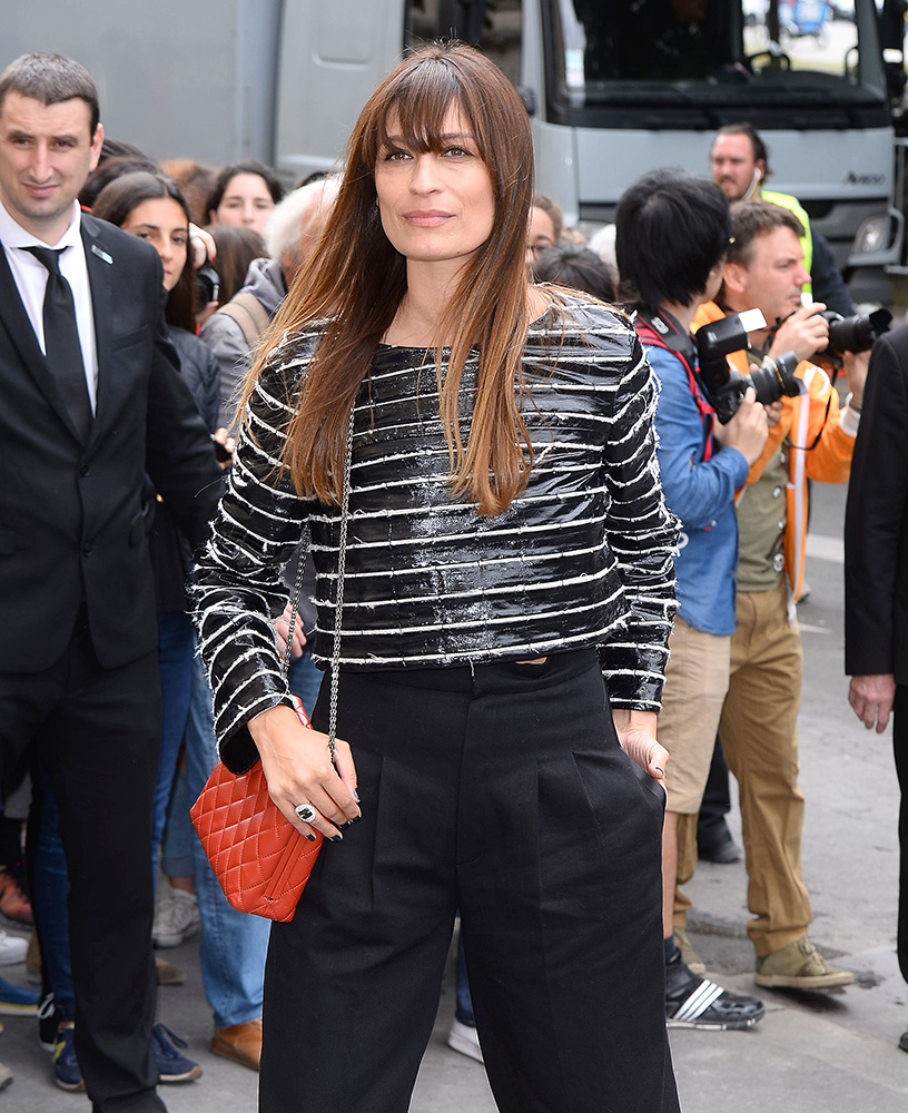 Caroline-de-Maigret-Chanel-Frame-Shoulder-Bag