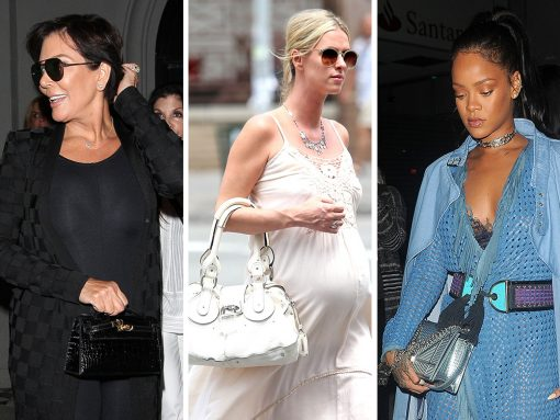 Celebs Flaunt Exotic & Nearly Vintage Bags from Chloé, Dior, Hermès, & More