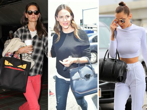 Celebs Head to Paris Couture Week & Parts Unknown with Fab New Bags from Givenchy, Fendi, Versace, & More