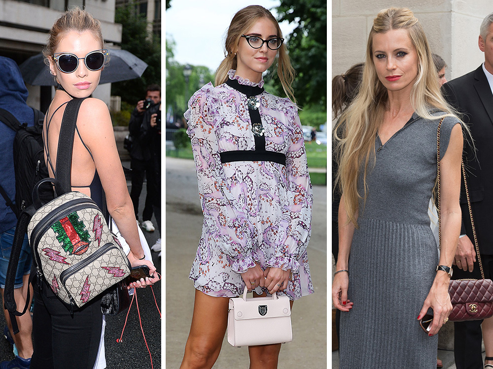 The Many Bags of Celebrities at the Paris Couture Week Fall 2016 Shows 9d0b3e6d3763b
