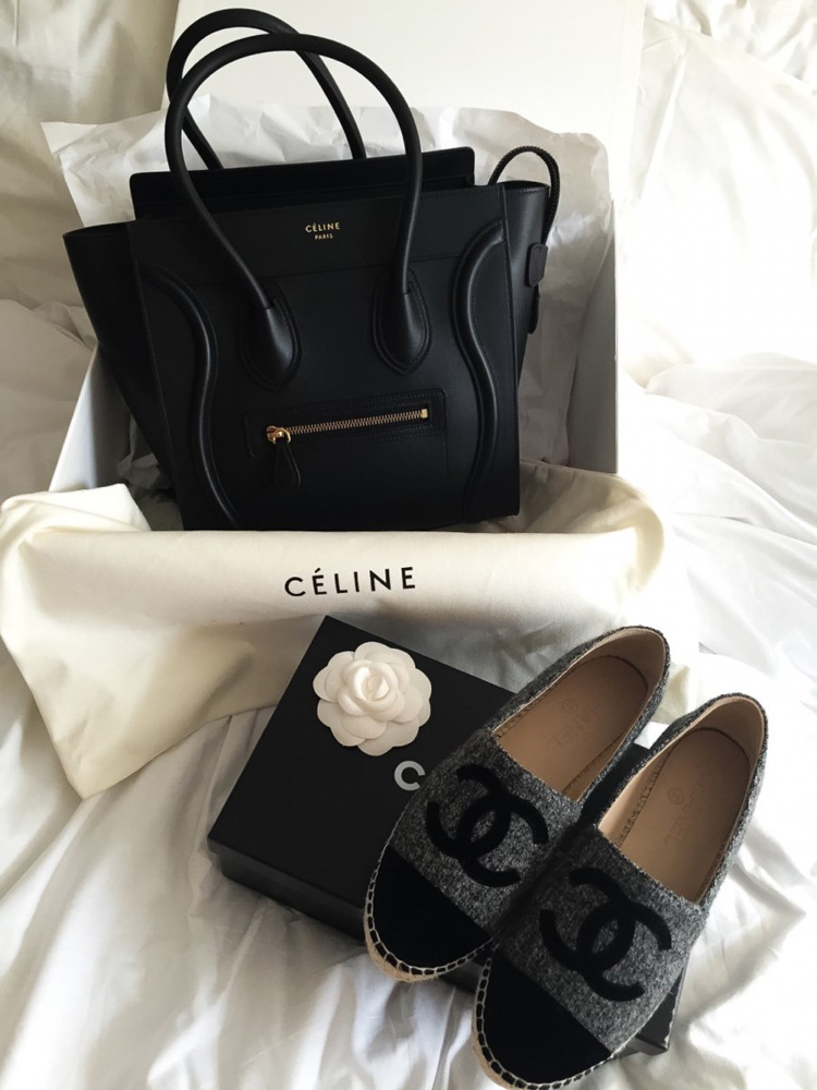 Celine-Micro-Luggage-Tote-Chanel-Espadrilles