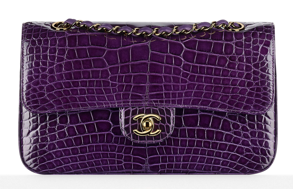 Chanel-Alligator-Flap-Bag