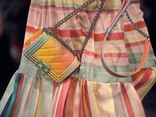 Chanel Rainbow Boy Bag