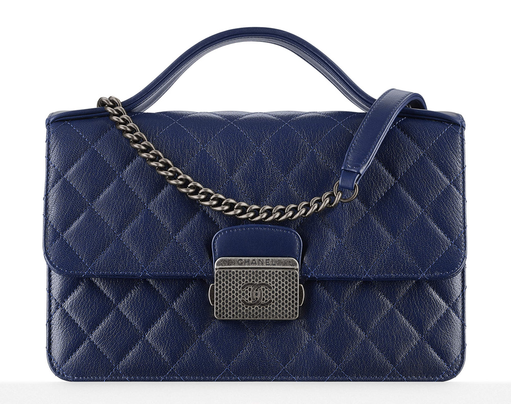 Chanel-Top-Handle-Flap-Bag-Navy-3100