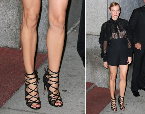 Diane Kruger's Red Carpet Shoe Game is Quintessentially A-List