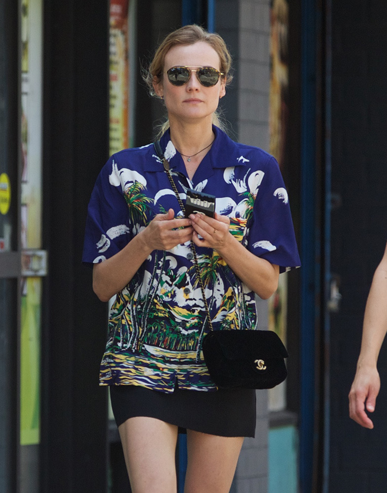 Diane-Kruger-Chanel-Flap-Bag