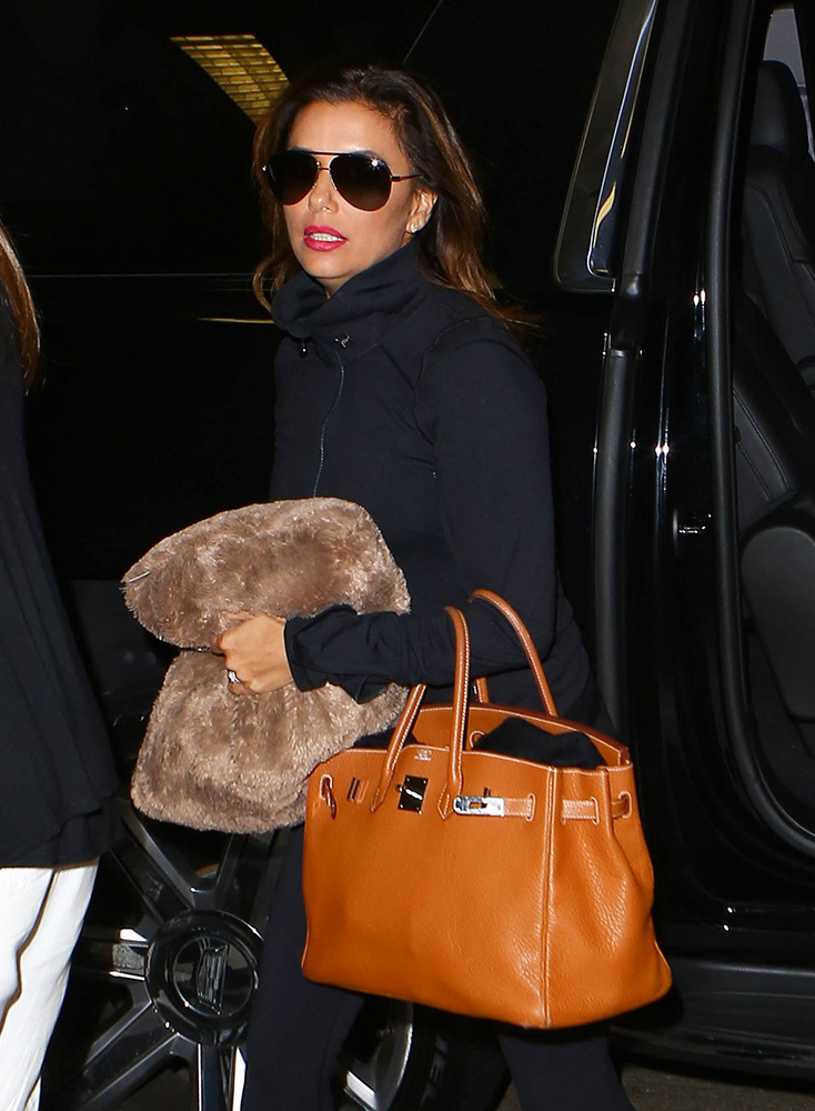 Last Week Celebs Showed Up With Bags From Louboutin Mcm