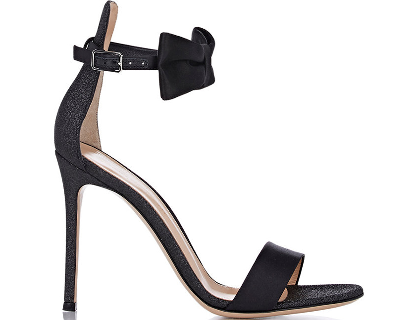 Gianvito Rossi Bow-Detailed Sandals