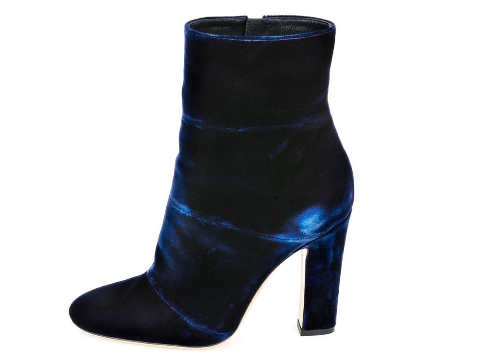 Gianvito Rossi Velvet Ankle Boot