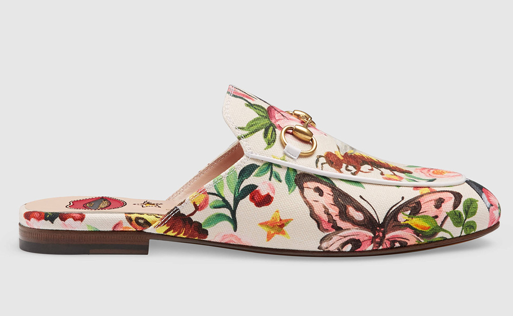 dcab2d64eff Gucci Garden Princetown Slippers