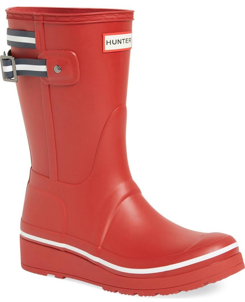 Hunter Original Short Wedge Rain Boot